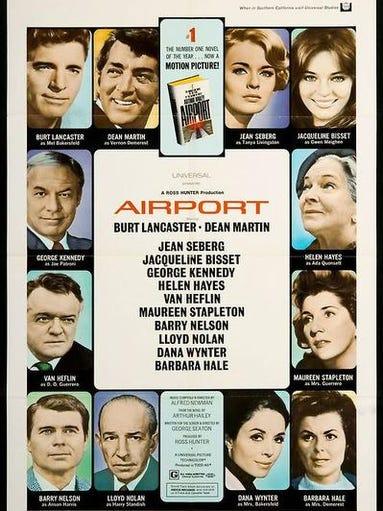 1. Airport with Burt Lancaster, 1970