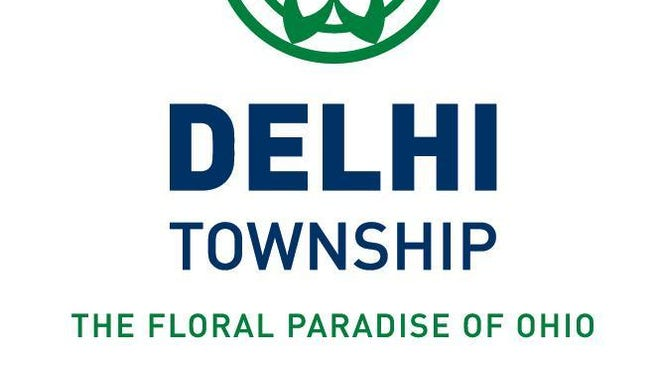 """Delhi Township has adopted a new logo and coordinating graphics for the township. The geometric floral design pays homage to the township's history and the """"Floral Paradise of Ohio"""" theme is retained."""