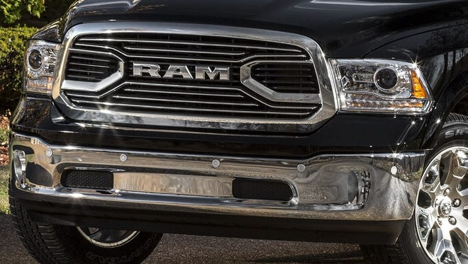 The 2015 Ram 1500 Laramie Limited hasn't won many fans for its grille