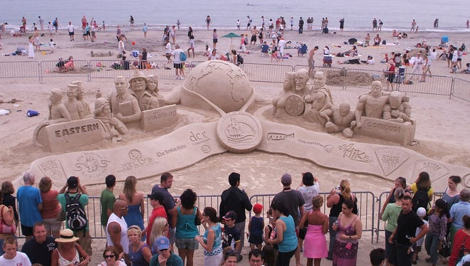 The Sand-sculpting championship comes to Salt River Fields this weekend.