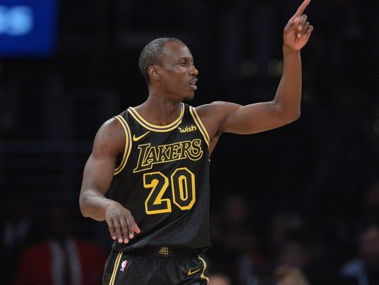 USP NBA: HOUSTON ROCKETS AT LOS ANGELES LAKERS S BKN LAL HOU USA CA