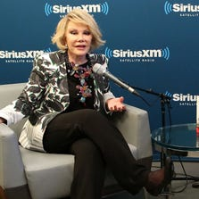 SiriusXM's Unmasked Special With Joan Rivers at SiriusXM on June 30, 2014 in New York City.