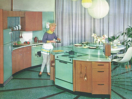 GE kitchen from 1950s