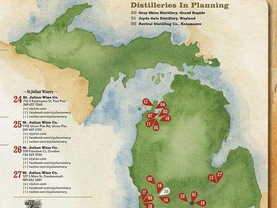 Craft Distilleries In Michigan