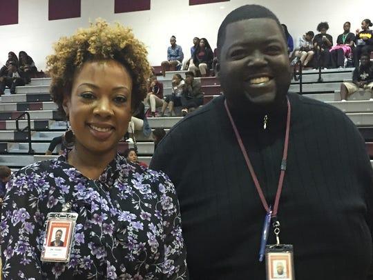 BTW principal Kristi Young and BTW principal of discipline