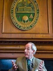 University of Vermont President Thomas Sullivan
