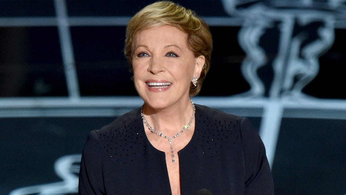 second julie andrews memoir due in 2017