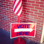 Outside polling place in Prospect, Ky.