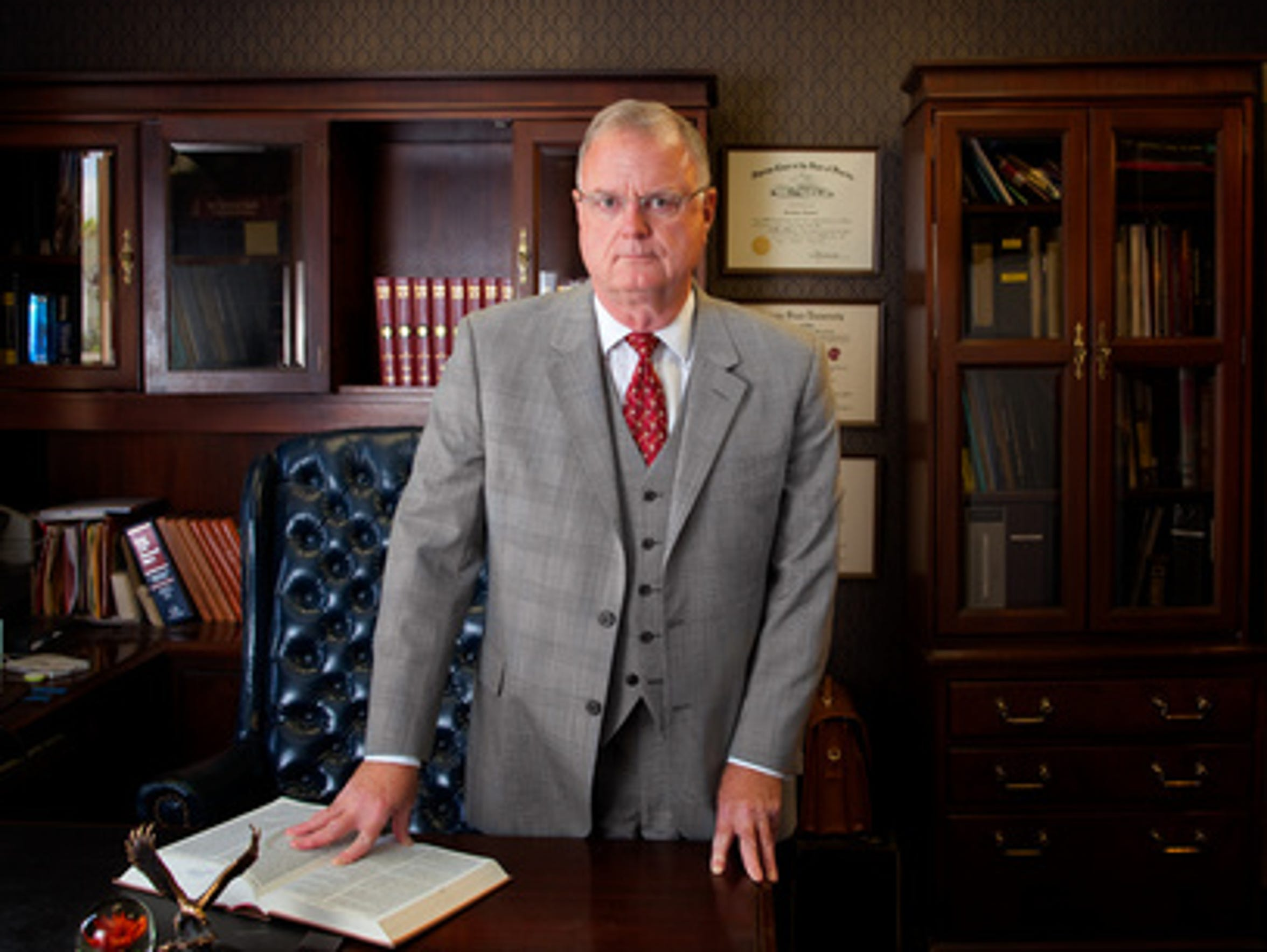 Criminal defense attorney Sam Bardwell quit the prosecutor's