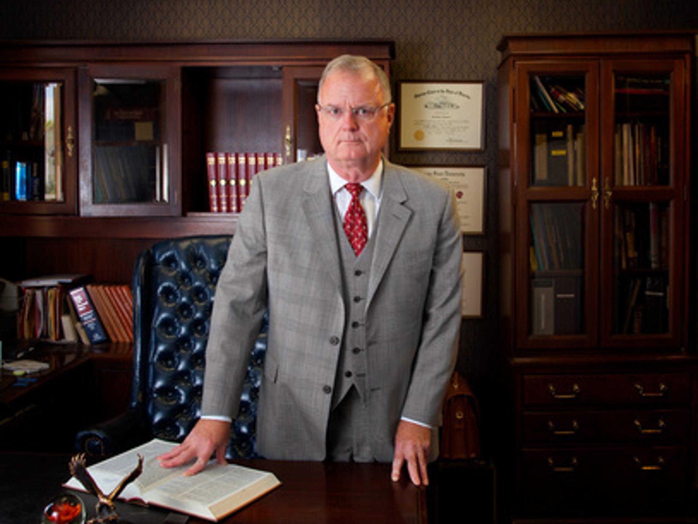 Criminal defense attorney Sam Bardwell quit the prosecutor's