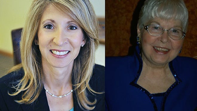 Fairfield residents Angela Kenworthy, left, and Ercel Eaton, will receive the Kaleidoscope Award at the Fairfield Community Foundation's Crystal Ball.
