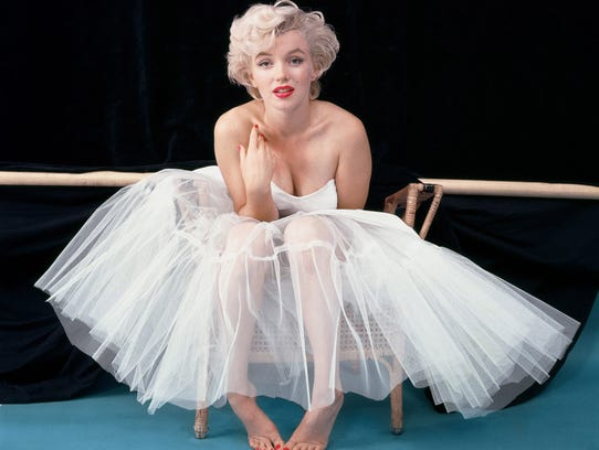 Marilyn Monroe photographed by Milton Greene, in undated