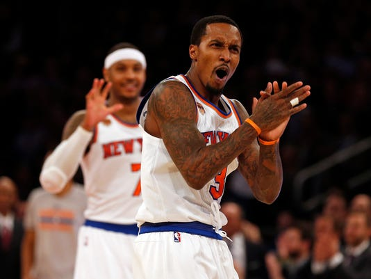 NBA: Portland Trail Blazers at New York Knicks