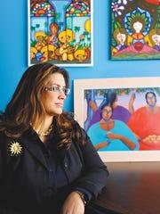 Marisol Ramos-Lopez, a survivor of sexual abuse, came