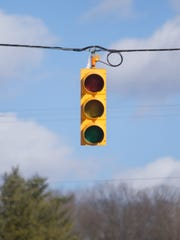 Traffic lights and power in the area of Hyne and Old