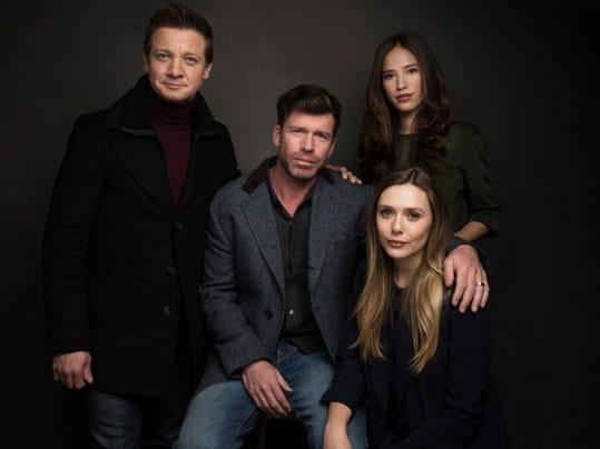 Elizabeth Olsen, Jeremy Renner, Kelsey Asbille Chow