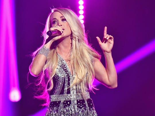 Carrie Underwood will hit the Fiserv Forum in June.