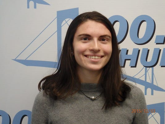 Caroline Pennacchio, Briarcliff cross country, Con Edison Athlete of the Week