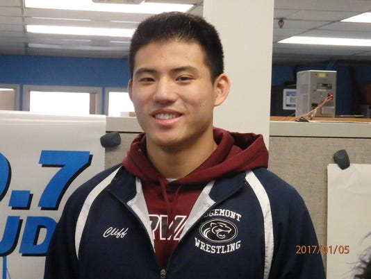 Cliffton Wang, Edgemont wrestling, Con Edison Athlete of the Week