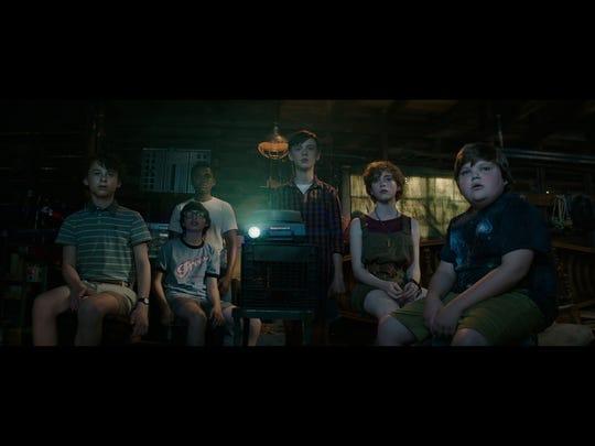Wyatt Oleff (from left), Finn Wolfhard, Chosen Jacobs, Jaeden Lieberher, Sophia Lillis and Jeremy Ray Taylor play the heroic kids of 'It.'