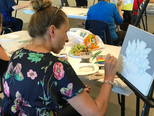 Paint, drink, and be merry at Hudson River Museum's