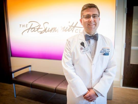 Dr. Roberto Fernandez, medical director of The Pat