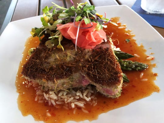 The Trinidad Tuna at Island Gypsy.