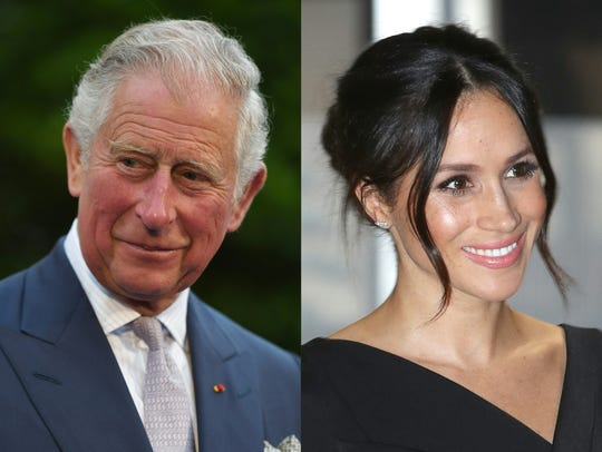 Prince Charles and Meghan Markle.
