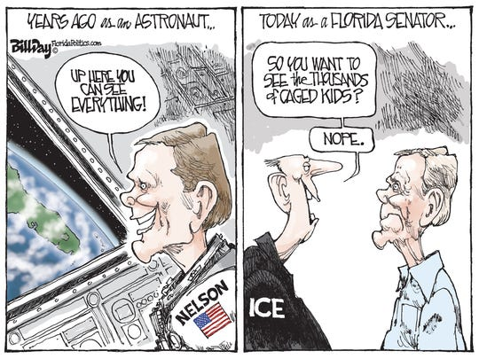 Bill Nelson as an Astronaut and Senator commentary