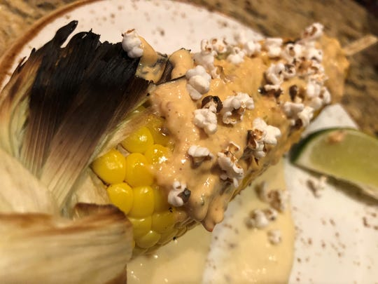 """Mexican street corn"" or as you might know it, elotes."