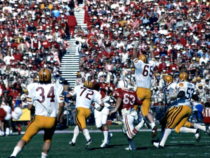 ASU defeats Nebraska in the 1975 Fiesta Bowl.