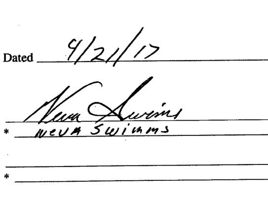 On a quit claim deed filed in April 2017 with the Milwaukee
