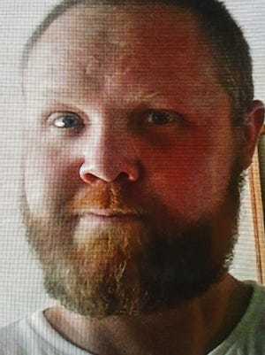 "A photo of Joseph ""Joey"" Pahl, 33, who was found dead in the desert outside Fallon."
