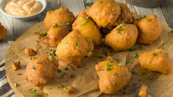 Homemade deep-fried corn fritters are a wonderful summer treat, making the most of all that plentiful fresh corn.