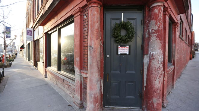 The East Village bar Locust Tap was closed last year because the city of Des Moines deemed the building unsafe.