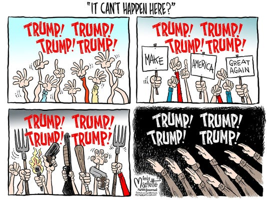 An Andy Marlette cartoon about Donald Trump