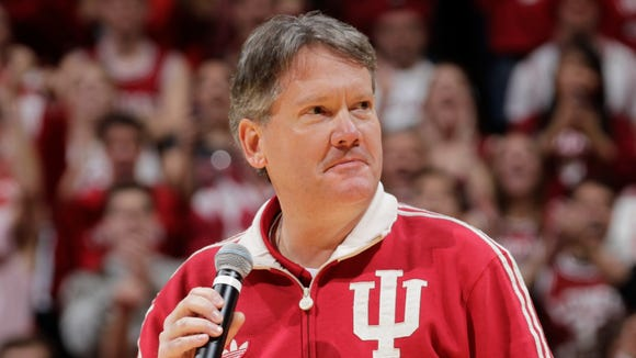 Fred Glass announced extensive renovation plans, and the renaming of Assembly Hall, on Thursday.