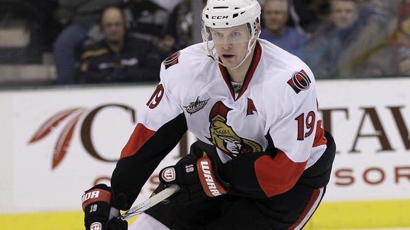 Ottawa Senators center Jason Spezza
