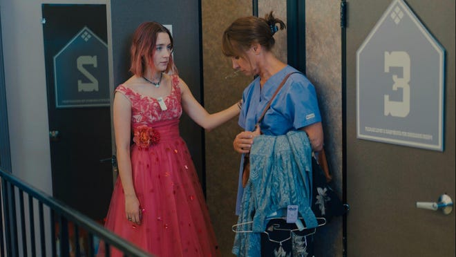 "Saoirse Ronan, left, and Laurie Metcalf play a daughter and mother who have a prickly relationship in ""Lady Bird,"" which opened this week."