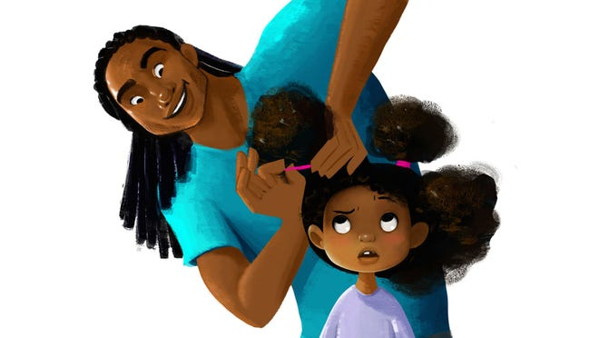 Matthew A. Cherry's Kickstarter campaign looks at black men doing daughter's hair