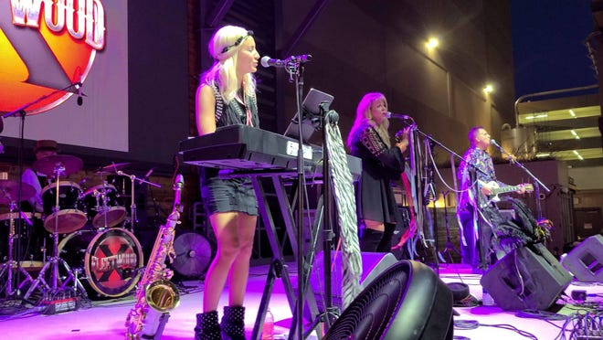 Tribute band Fleetwood X is scheduled to perform Oct. 16 at Barnhill Vineyard in Anna.