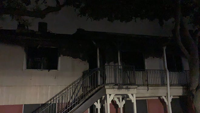 An overnight fire at a Northwest Austin apartment complex Sunday displaced 22 residents and injured three. Authorities said the cause was a cooking fire that grew out of control.