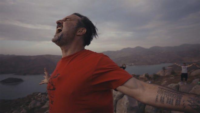 "David Arquette in a scene from the documentary ""You Cannot Kill David Arquette."""