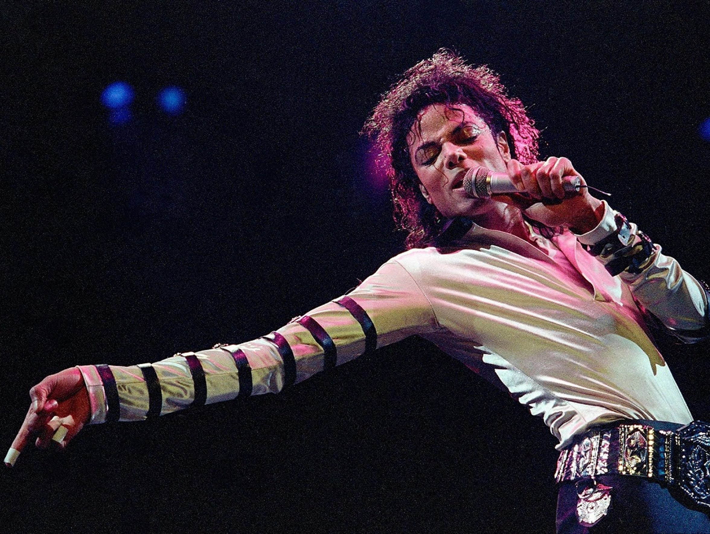Michael Jackson sold more than 40 million copies of