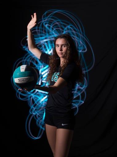 Jenna Johnson of Jensen Beach High School, all-area