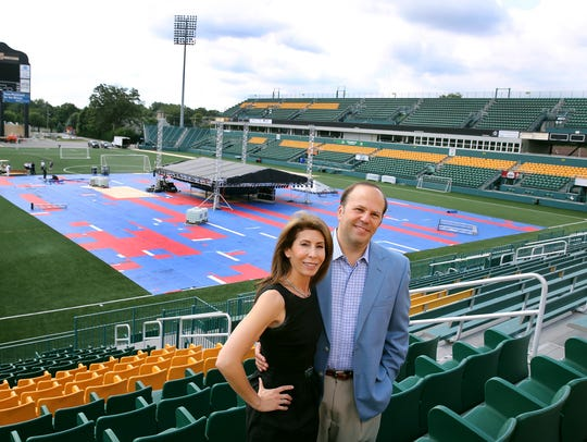 Rochester Rhinos owners David and Wendy Dworkin bought the team in early 2016, just a few months after the club won the USL championship, its first since 2001.