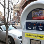 Many parking pay stations, such as the one above, are available in Asbury Park. But some business owners complain there is a shortage of places for customers to park their cars.