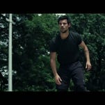 "Taylor Lautner stars in ""Tracers."""