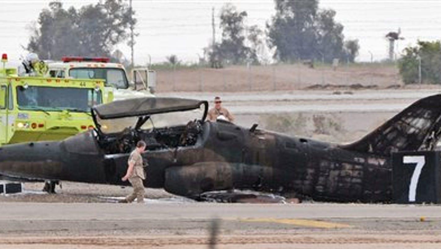 Plane Crashes Killing Marine On Ground In Yuma