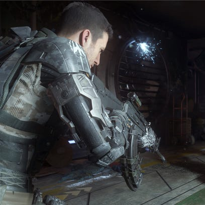 A screen shot from the video game, 'Call of Duty: Black